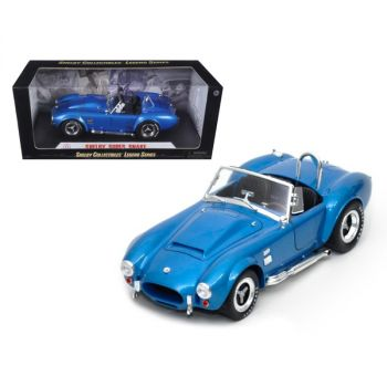 1966 Shelby Cobra Super Snake Blue 1/18 Diecast Model Car by Shelby Collectibles SC125