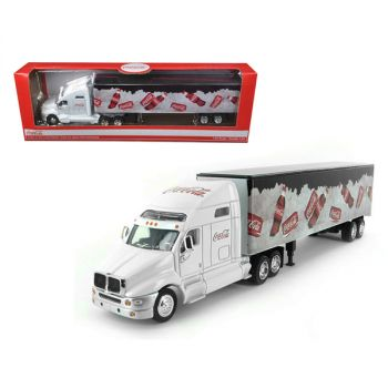 Coca Cola On Ice Tractor Trailer 1/64 Diecast Model by Motorcity Classics MCC434618