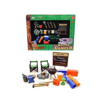 Happy Camper Accessories Set for 1/24 Scale Models by Phoenix Toys 18430