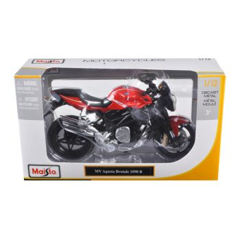 2012 MV Agusta Brutale 1090 R Red 1/12 Motorcycle by Maisto 11096r