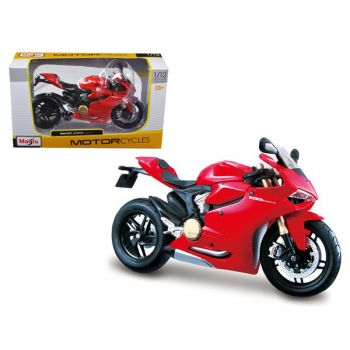 Ducati 1199 Panigale Red 1/12 Motorcycle by Maisto 11108r
