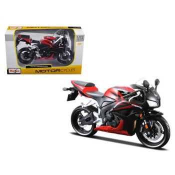 Honda CBR 600RR Red and Black 1/12 Diecast Motorcycle Model by Maisto 31154r