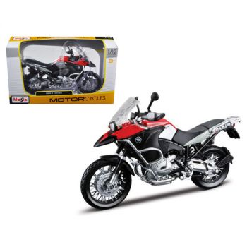 BMW R1200GS Red and Black 1/12 Diecast Motorcycle Model by Maisto 31157r