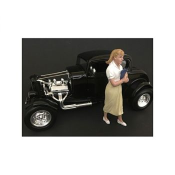 50\'s Style Figurine VIII for 1/18 Scale Models by American Diorama 38158