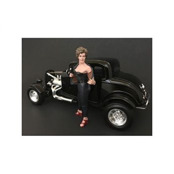 50\'s Style Figure II for 1:24 Scale Models by American Diorama 38252