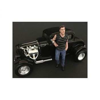 50\'s Style Figure III for 1:24 Scale Models by American Diorama 38253