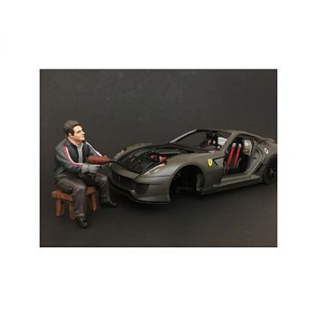 Chop Shop Mr. Lugnut Figure for 1:24 Scale Models by American Diorama 38262