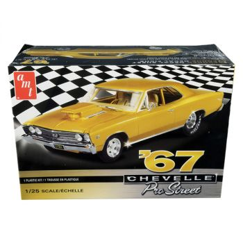 Skill 2 Model Kit 1967 Chevrolet Chevelle Pro Street 1/25 Scale Model by AMT AMT876M