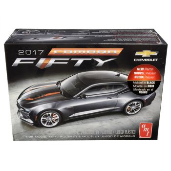 Skill 2 Model Kit 2017 Chevrolet Camaro FIFTY 1/25 Scale Model by AMT AMT1035M
