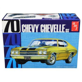 Skill 2 Model Kit 1970 Chevrolet Chevelle SS 1/25 Scale Model by AMT AMT1143M