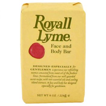 Royall Lyme Face And Body Bar Soap 8 Oz For Men