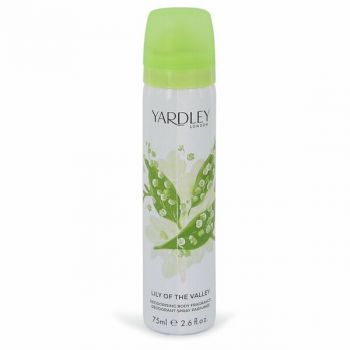 Lily Of The Valley Yardley Body Spray 2.6 Oz For Women