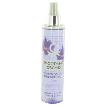Benetton Smoothing Orchid Refreshing Body Mist 8.4 Oz For Women