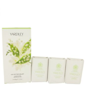 Lily Of The Valley Yardley 3 X 3.5 Oz Soap 3.5 Oz For Women