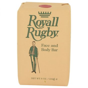 Royall Rugby Face And Body Bar Soap 8 Oz For Men