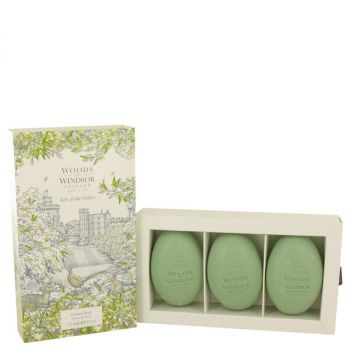 Lily Of The Valley (woods Of Windsor) Three 2.1 Oz Luxury Soaps 2.1 Oz For Women