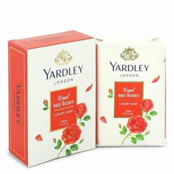 Yardley London Soaps Royal Red Roses Luxury Soap 3.5 Oz For Women