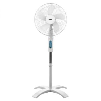 Optimus16 in. Wave Oscillating 3-Speed Stand Fan with Remote Control