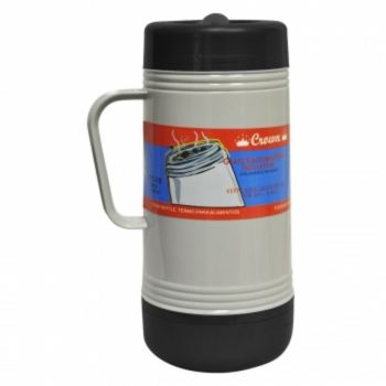 Brentwood 1.0L Glass Vacuum / Foam Insulated Food Thermos