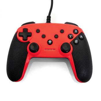 Gamefitz Wired Controller for the Nintendo Switch in Red