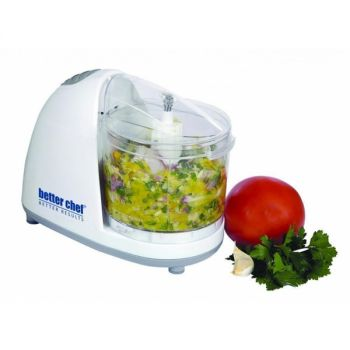 Better Chef 1.5 Cup Compact Chopper in White