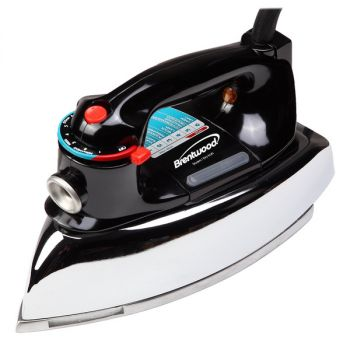 Brentwood Classic Steam / Spray Iron in Black