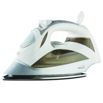 Brentwood Steam Iron With Auto Shut-OFF - White