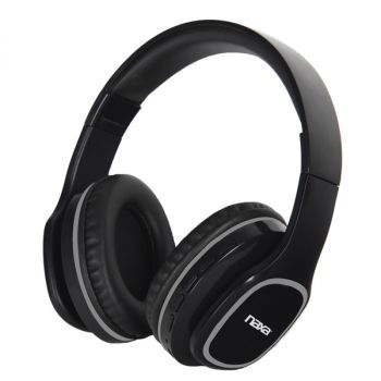 Bluetooth Headphones with Voice Control in Black