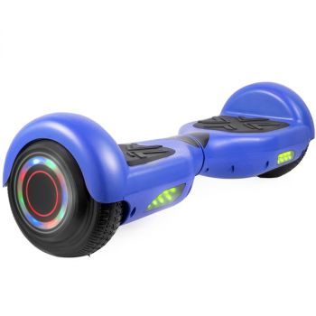Hoverboard in Blue with Bluetooth Speakers
