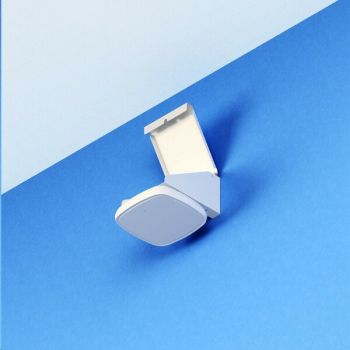 Oberon Right-Angle Wi-Fi Access Point Wall Mount White For Selected Aruba Cisco Aerohive and Others AP 1011-00-WH