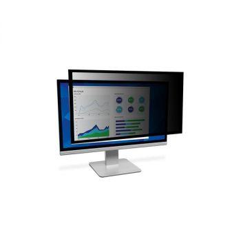 3M Framed Privacy Filter For 22 WideScreen Monitor PF220W9F