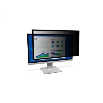 3M Framed Privacy Filter For 19 WideScreen Monitor PF190W1F