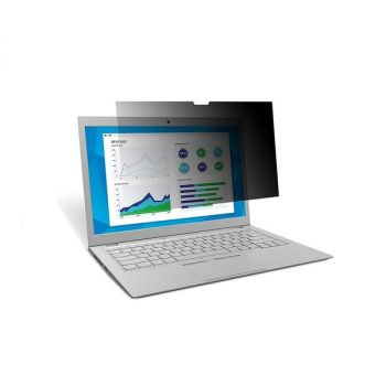3M Privacy Filter For 12.5 WideScreen Laptop PF125W9B