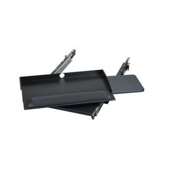 Black Box RackMount Keyboard Tray With Mouse Tray 2U 19 RM385