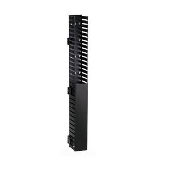 Panduit CWMPV3440 Vertical Cable Manager 40U Front Only Black CWMPV3440