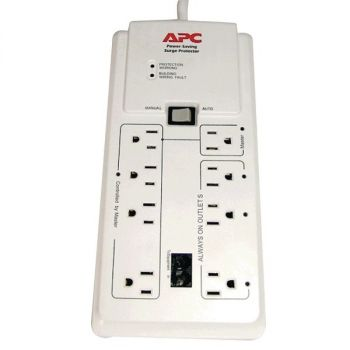 APC P8GT 8-Outlet Energy-Saving Surge Protector