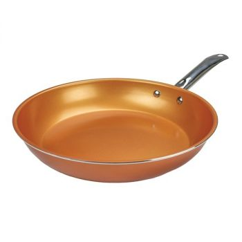 Brentwood Appliances BFP-330C Non-Stick Induction Copper Frying Pan (11.5 Inch)