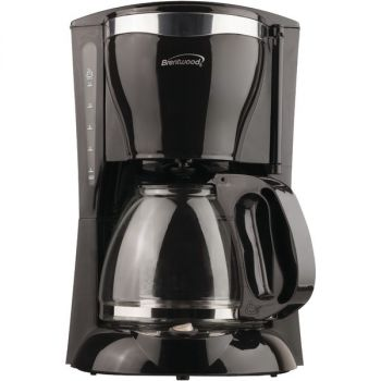 Brentwood Appliances TS-217 12-Cup Coffee Maker (Black)