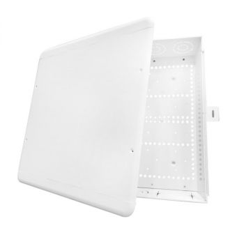 DATACOMM ELECTRONICS 80-1500-SC 15-Inch Plastic Enclosure Box with Screw Cover