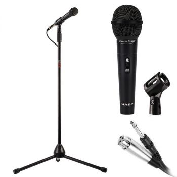 NADY(R) CenterStage MSC3 CenterStage MSC3 Professional Dynamic Microphone with Stand