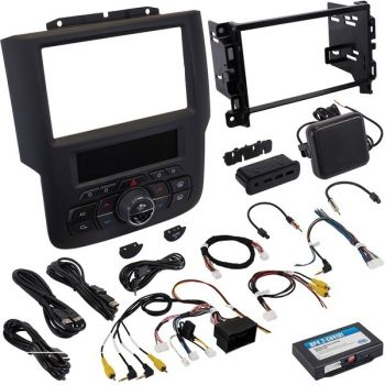 PAC RPK4-CH4101 RadioPro Integrated Installation Kit with Integrated Climate Controls for Select Ram Trucks with 8-Inch Display