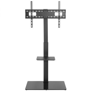 APEX by Promounts AFMSS6402 Large TV Floor Stand Mount with 35deg swivel by Apex