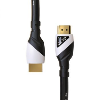 ONE Products by Promounts OCHDMI001-25 ONE Cable Premium 4K Ultra HD Ready HDMI Cable 25 Foot