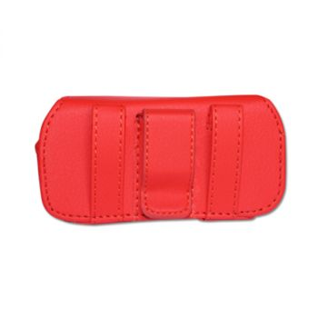 HORIZONTAL POUCH HP11A L SIZE RED 4.6X1.9X0.8 INCHES HP11A-LRD
