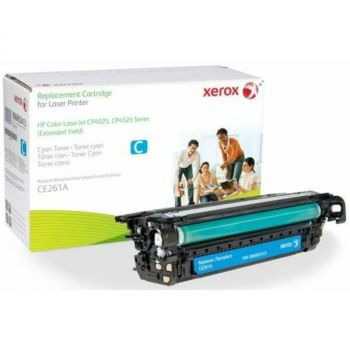 Xerox 006R03413 CE261A Replacement Toner Cartridge for CP4025/4525 Printers - 14500 Pages Yield - Cyan