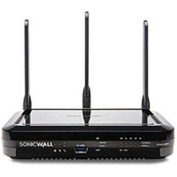 SonicWall 02-SSC-1835 SOHO 250 Wireless-N Security Appliance - Secure Upgrade Plus Advanced Edition 2 Year - External - 600 Mbps - Black