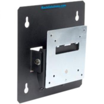Rack Solutions 104-2202 Wall Mount for Flat Panel Monitor - Black - 20 lb Load Capacity