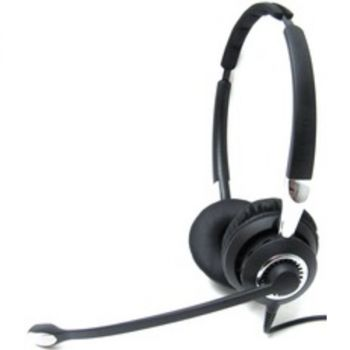 Jabra BIZ 2400 II USB Headset - Stereo - USB - Wired - Gold Plated - Over-the-head - Binaural - Supra-aural - Noise Cancelling Microphone - Noise Canceling