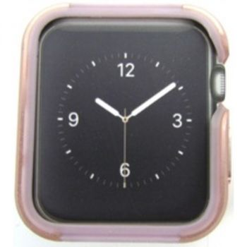 Metal Guard for Apple Watch - Rose Gold