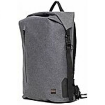 Knomo 44-402-GRY Cromwell Carrying Case (Backpack) for 15 Notebook - Gray - Water Resistant, Water Proof Pocket - Fabric, Polyurethane, Plastic Clip, Nylon - Shoulder Strap, Chest Strap - 24.4 Height x 12.9 Width x 6.1 Depth